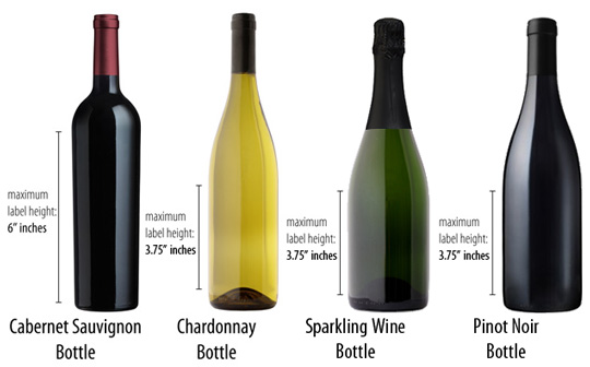 Boisset bottle sizes