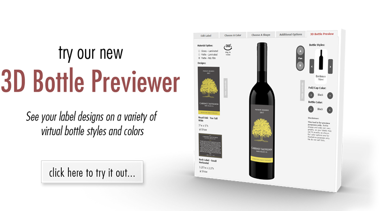 SCWP 3D Wine Bottle Preview