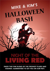 Halloween - Night Of The Living Red